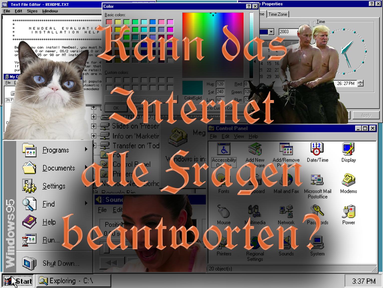 """""""Spaziergang durch das Internet"""" von Merani Schilcher, Robyn Steffen und Tanita Wensky"""