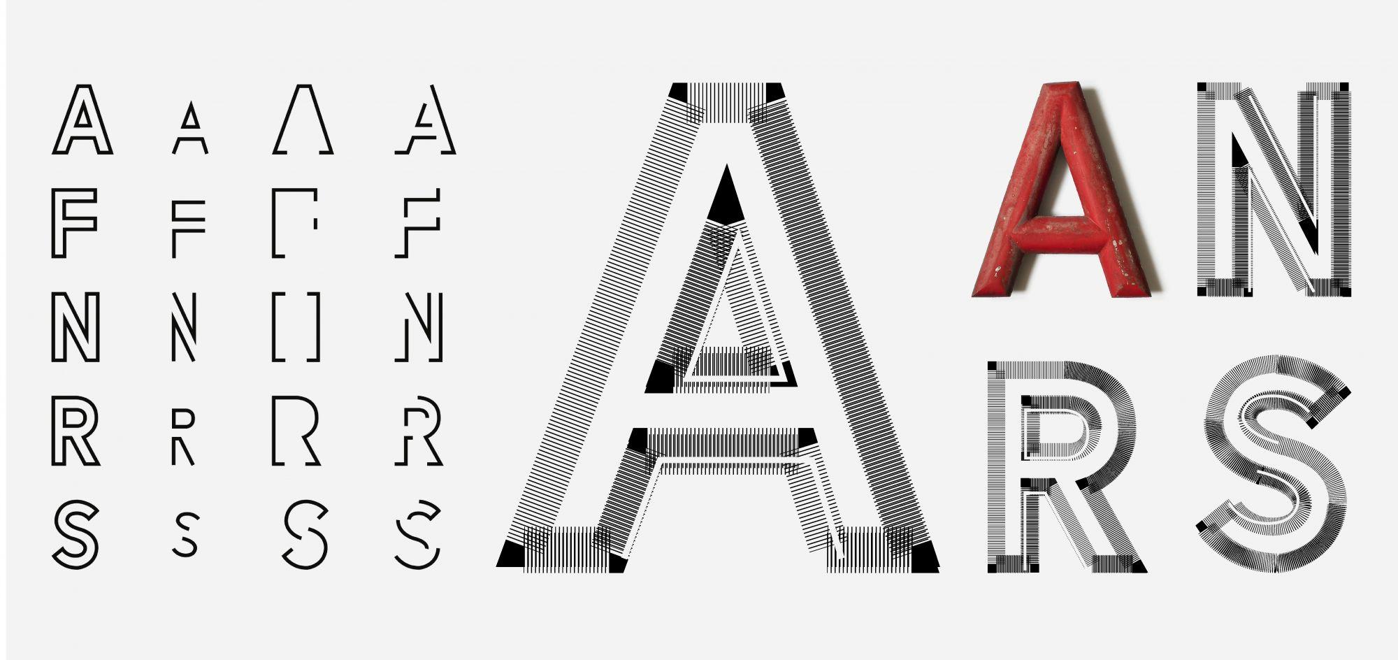 In Wien gibt es einige dieser roten Buchstaben an den Hausfassaden, weil sie meist zur Beschriftung von offiziellen Gebäuden oder Gemeindebauten verwendet werden. In meiner Familie besitzt jeder so einen Buchstaben, passend zum Namen. Alix Stria – Striae