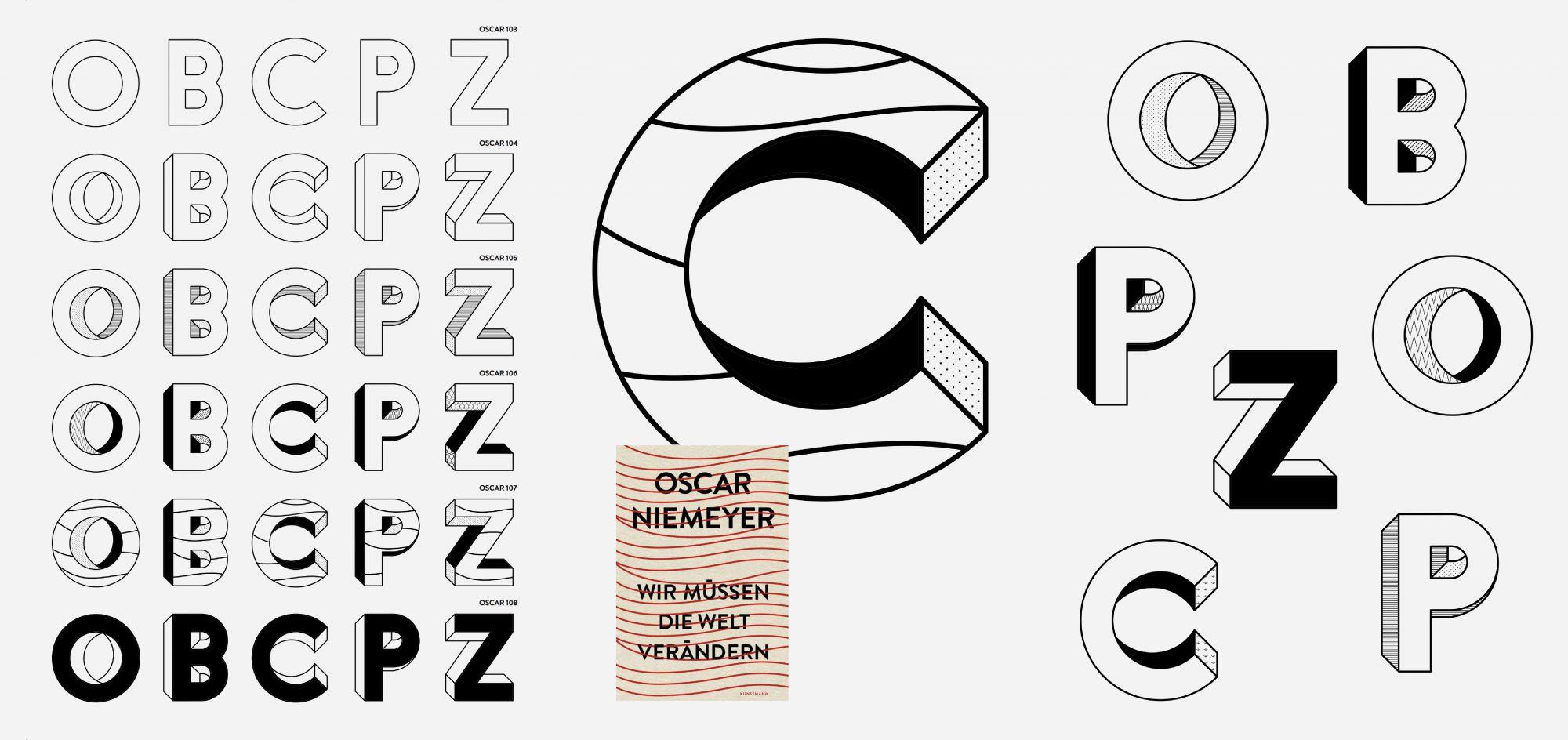 Persönlich verknüpft dieses Cover meine beiden Leidenschaften; Architektur und Visuelle Kommunikation. Die Konstruktion der Schrift habe ich mit ArchiCAD erstellt. Cecilie Parra – Oscar 103–108