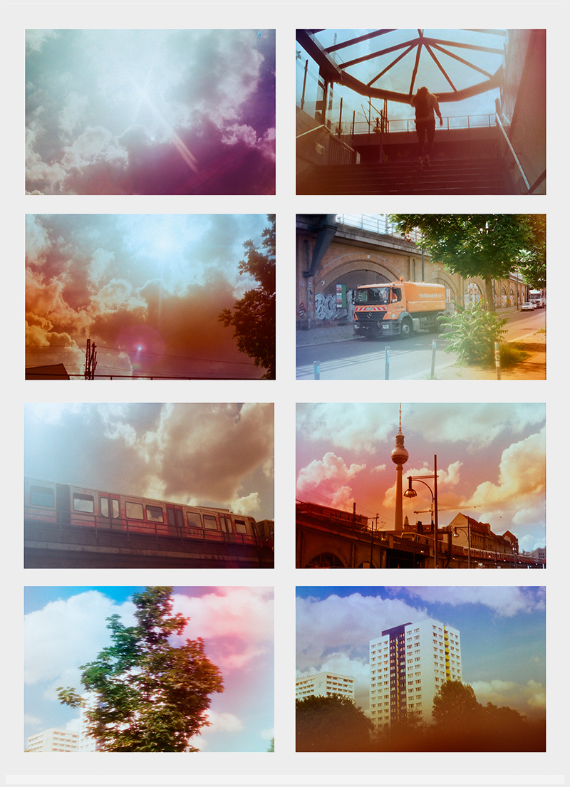 Analoge DIY-Filter für Farbfotografie. Von Hollie Bolton, Jonas Huckstorf, Dalis Pacheco.